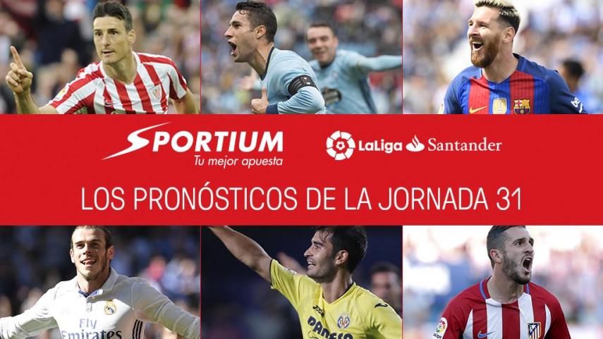 Las recomendaciones de Sportium para la jornada 31 de LaLiga Santander