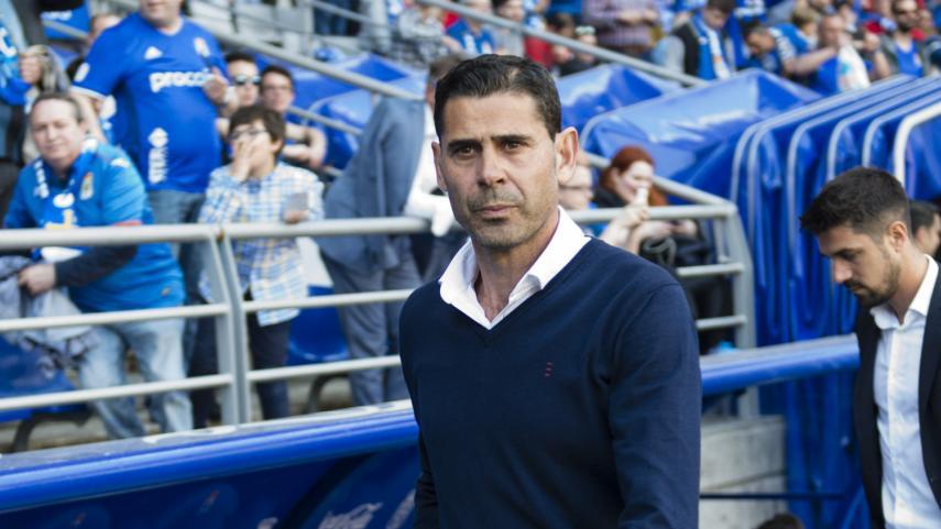 Fernando Hierro no continuará en el Real Oviedo