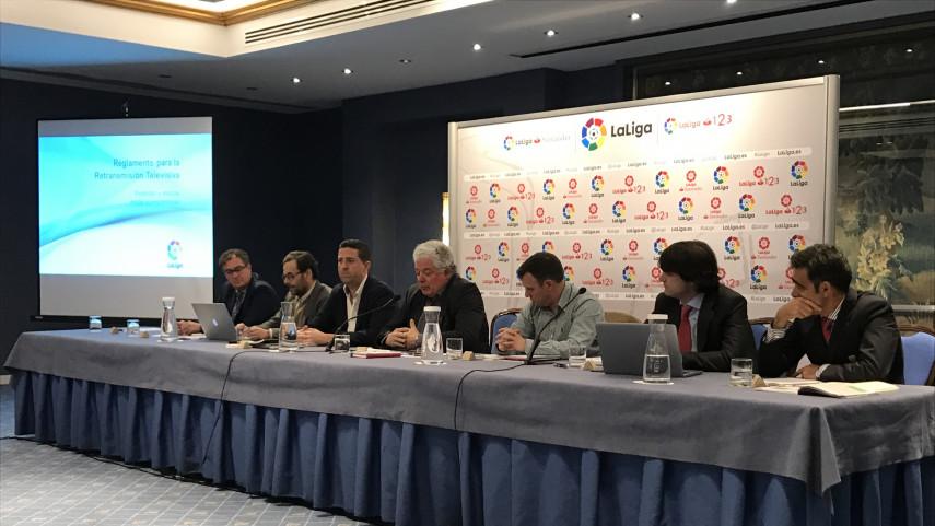 LaLiga y sus clubes acogen con satisfacción la buena marcha del proceso de aplicación del Reglamento de TV