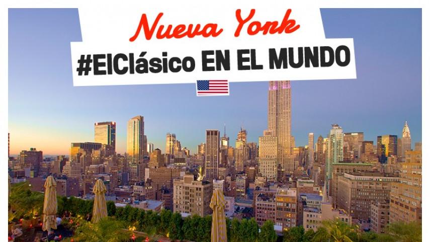El mejor fútbol español se da cita en el skyline de Nueva York