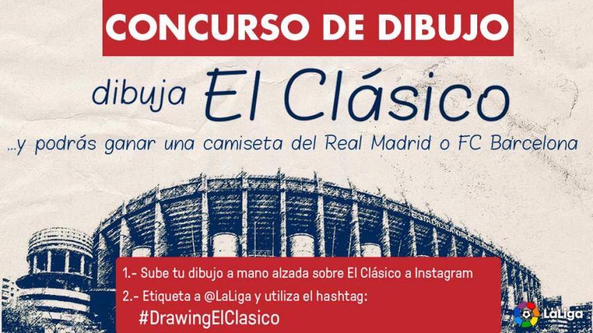 #DrawingElClasico: Esta vez El Clásico lo dibujas tú