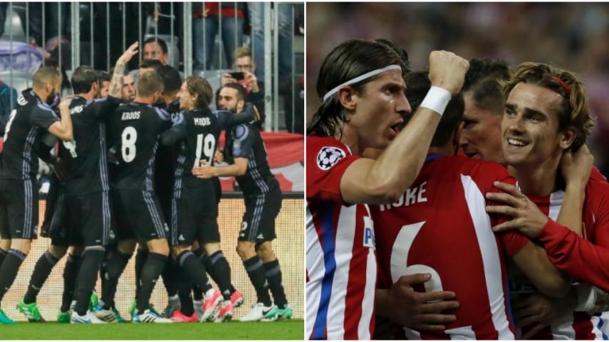 Real Madrid y Atlético, un paso más cerca de las semifinales de la Champions