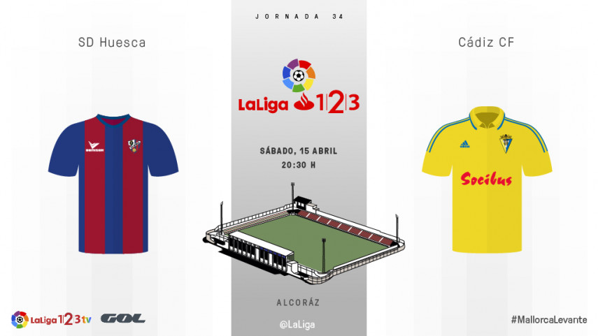 El Huesca quiere reafirmar su candidatura al play-off