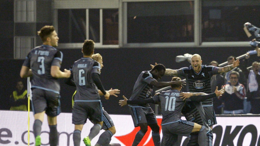 El Celta, un paso más cerca de semifinales de la Europa League