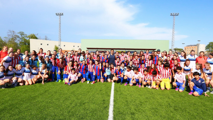 Barcelona, Atlético de Madrid, Region One ODP y PSG lucharán para llegar a la final del MIC'17 femenino