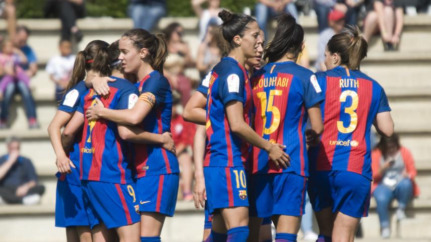 El Barcelona se pone líder de la Liga Femenina Iberdrola