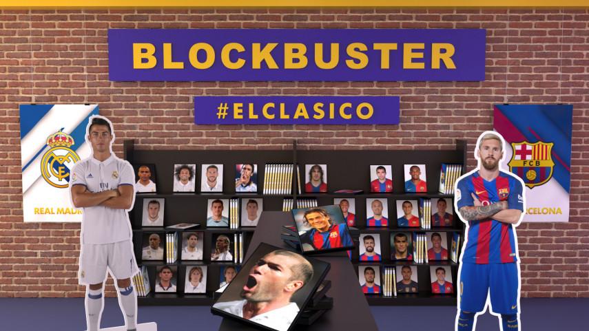 Revive la historia de El Clásico en el Blockbuster de LaLiga