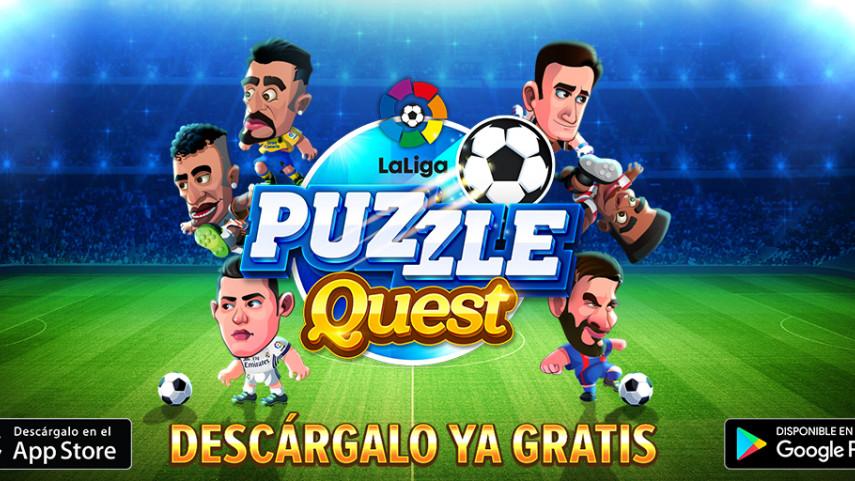 LaLiga lanza un novedoso juego que combina el formato puzzle con el fútbol