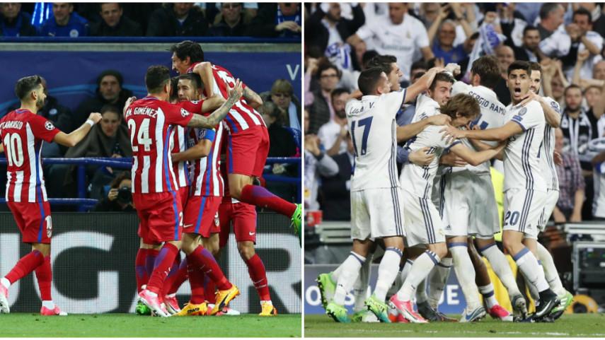 Atlético y Real Madrid alcanzan un año más las semifinales de la Champions League