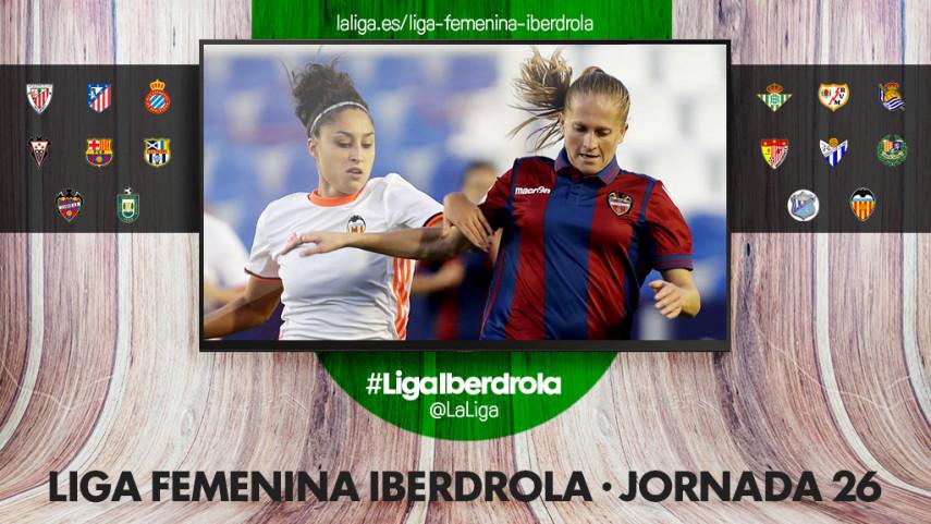 El Estadio de Mestalla, protagonista de la jornada 26 de la Liga Iberdrola