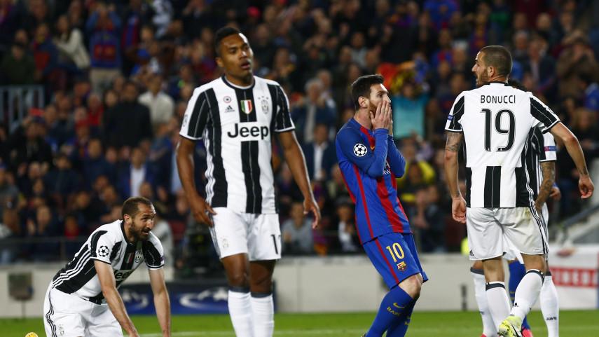 La Juventus apea al FC Barcelona de la Champions League