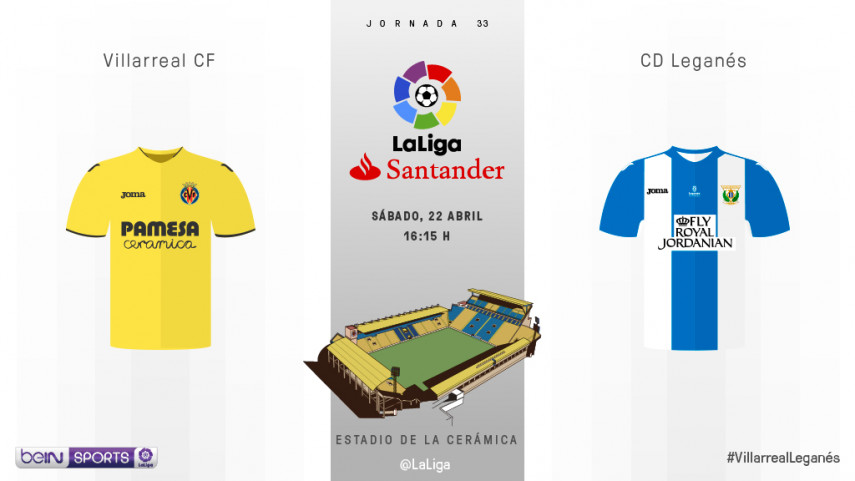 Villarreal - Leganés: quinta plaza vs permanencia