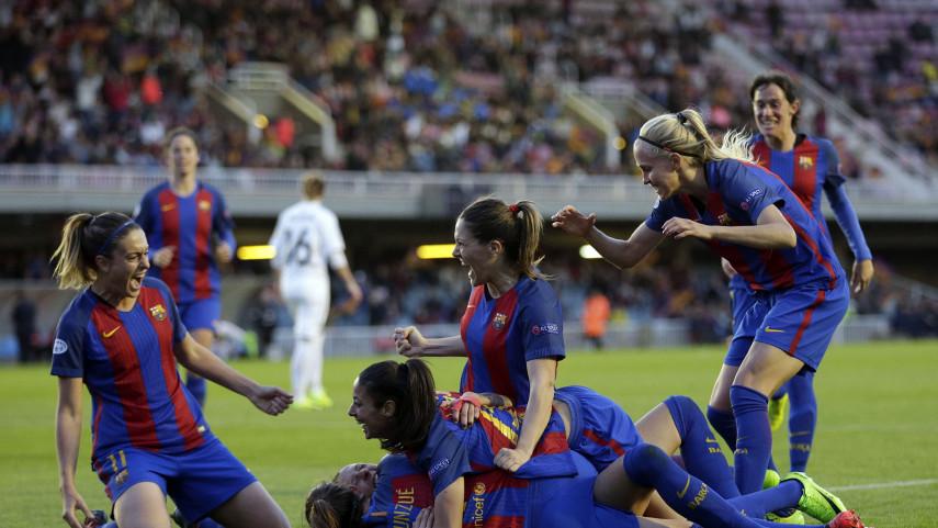 Primer paso para el FCB Femení hacia la final de la Champions