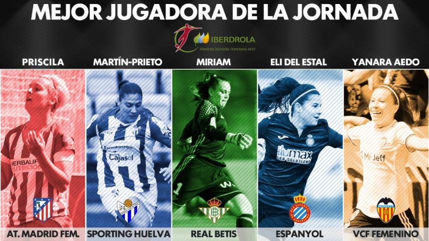 ¿Quién fue la mejor jugadora de la jornada 26 de la Liga Femenina Iberdrola?
