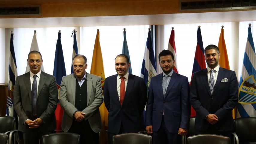 LaLiga y la Asociación de Fútbol de Jordania firman un acuerdo de colaboración