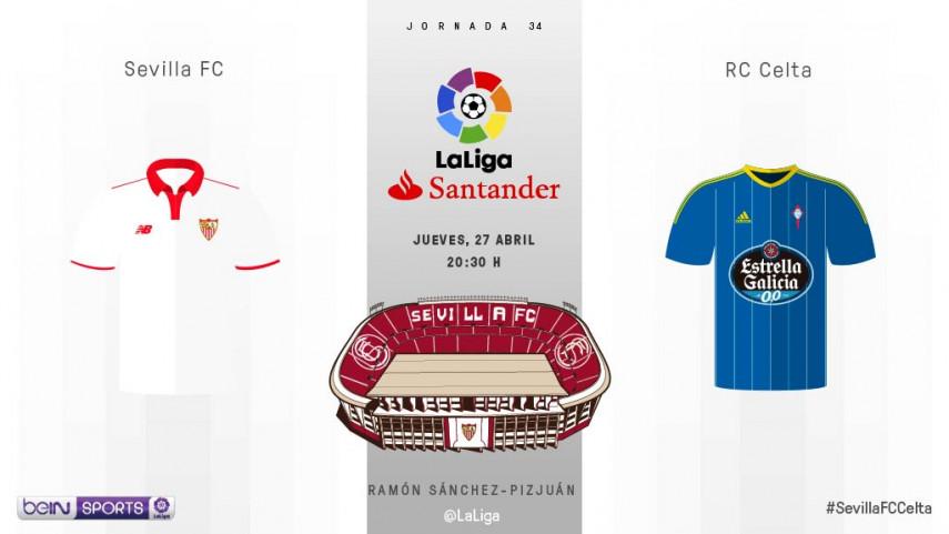 El Sevilla quiere luchar por la tercera plaza