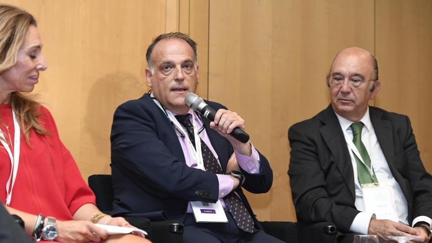 """Javier Tebas: """"En LaLiga tenemos que ser un ejemplo contra la corrupción"""""""