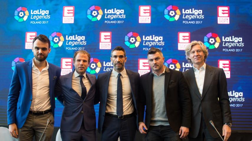 Polonia será la próxima parada de LaLiga Legends