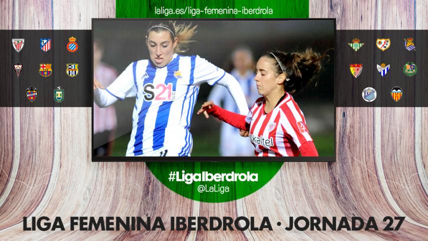 El derbi vasco, protagonista de la jornada 27 de la Liga Femenina Iberdrola