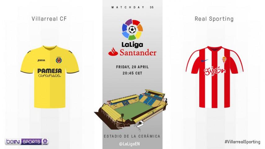 Sporting start make-or-break run at Estadio de la Ceramica