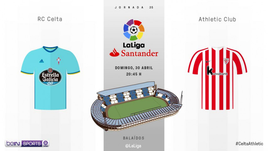 El Celta mide el gran estado de forma del Athletic