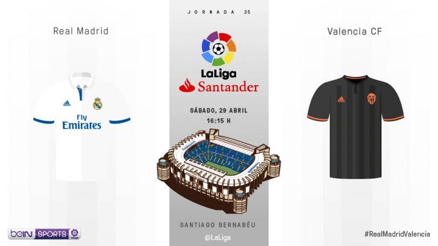 El Valencia se cruza de nuevo en las aspiraciones al título del Real Madrid