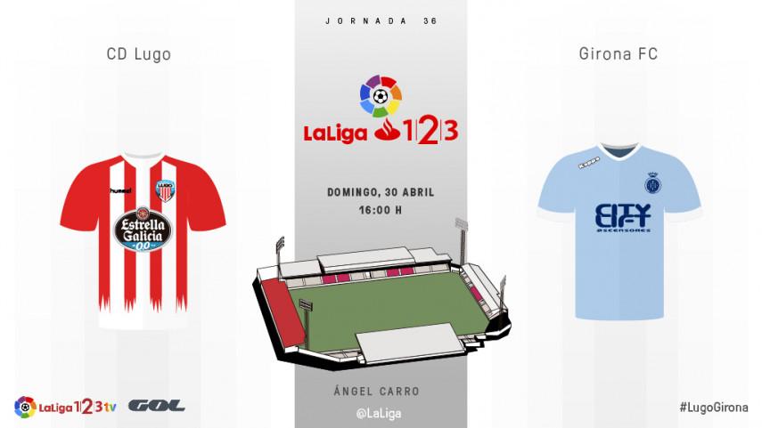 Lugo y Girona buscan seguir soñando con el ascenso