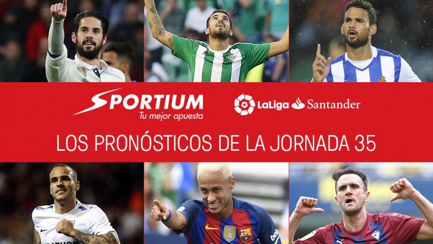 Las recomendaciones de Sportium para la jornada 35 de LaLiga Santander