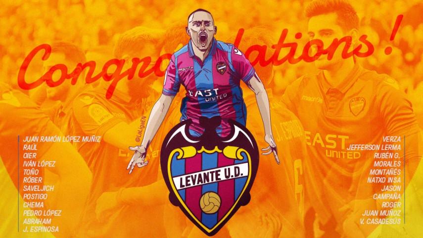 Levante return to LaLiga Santander