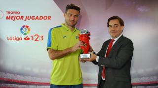 Jorge molina mejor jugador de laliga 1 2 3 en abril for Oficinas getafe cf