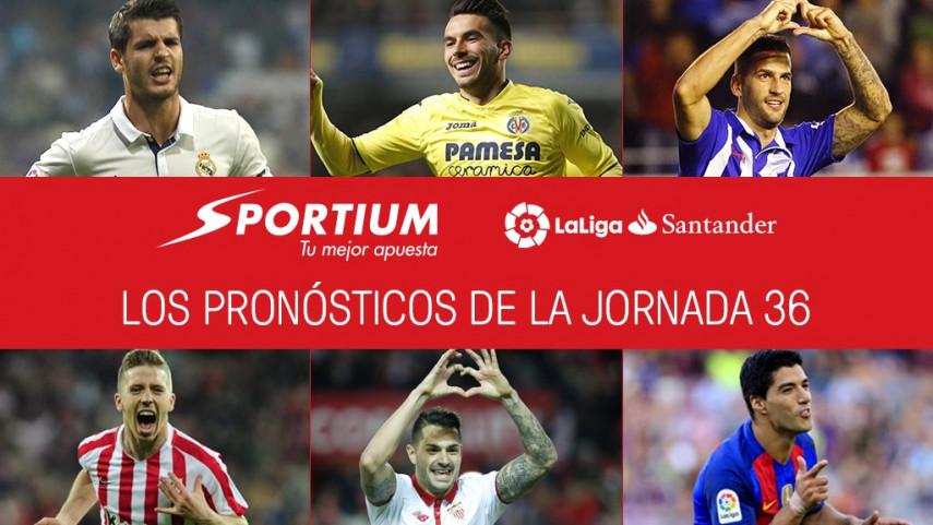 Las recomendaciones de Sportium para la jornada 36 de LaLiga Santander