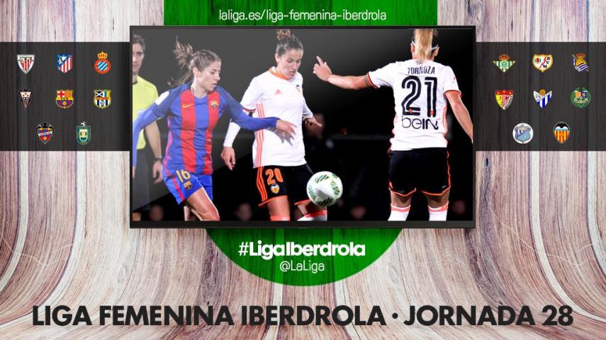 El título y la salvación, en juego en la jornada 28 de la Liga Femenina Iberdrola