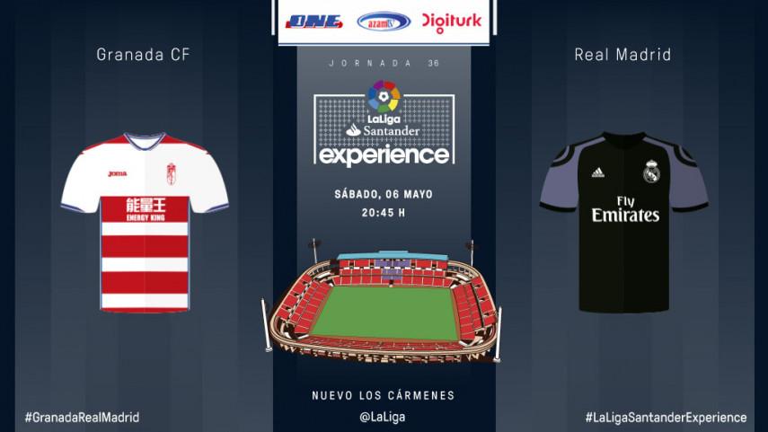El Granada y el Real Madrid, listos para emocionar a aficionados de LaLiga de Turquía, Israel y Tanzania