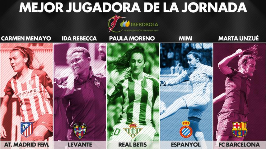 ¿Quién fue la mejor jugadora de la jornada 28 de la Liga Femenina Iberdrola?