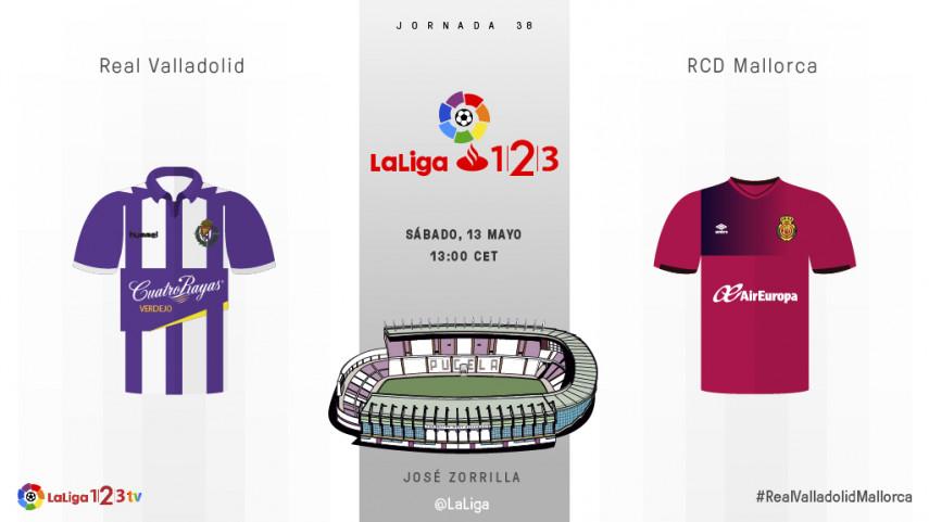 Valladolid y Mallorca no contemplan una derrota