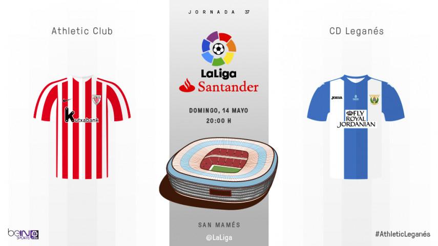 Athletic y Leganés, a un paso del objetivo