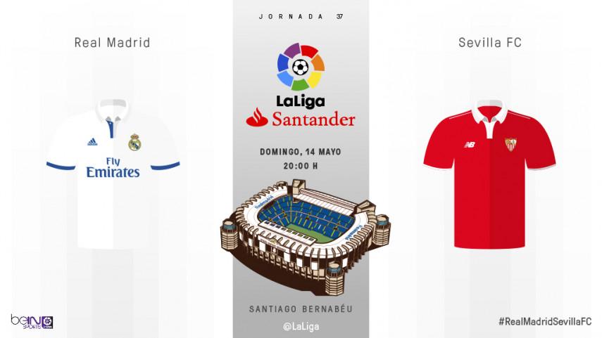 El Sevilla, siguiente reto para un Real Madrid que busca acariciar el título