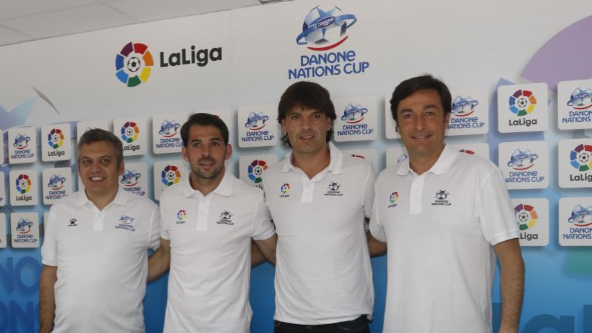 La Danone Nations Cup y LaLiga, unidos de nuevo por el fútbol base