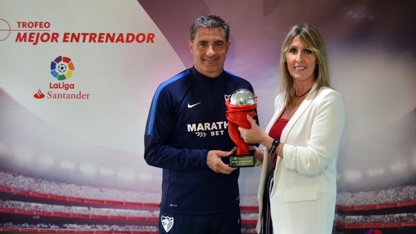 Michel Gonzalez named LaLiga Santander Manager of the Month for April