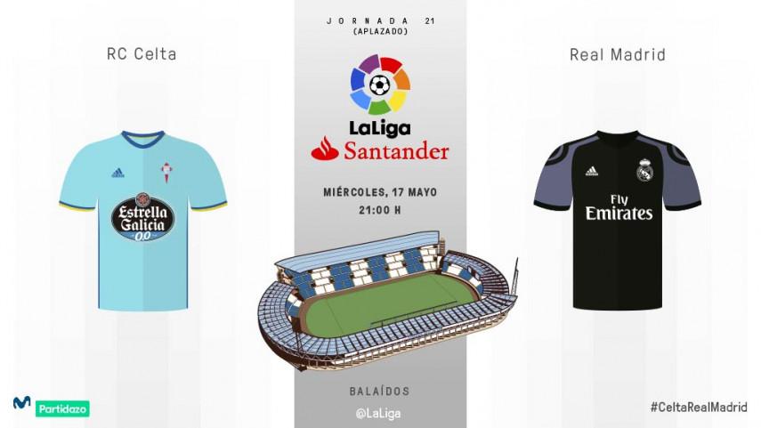 El Real Madrid no puede fallar en Balaídos