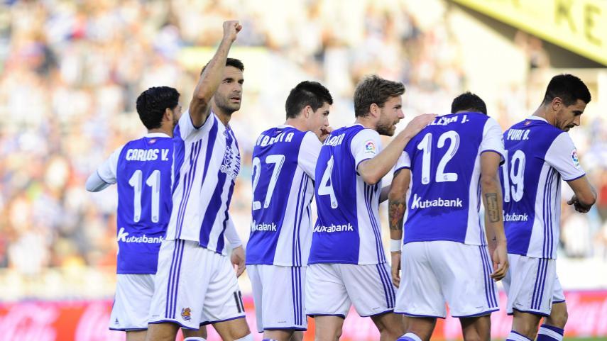Todos los goles de la Real Sociedad en LaLiga Santander 2016/17