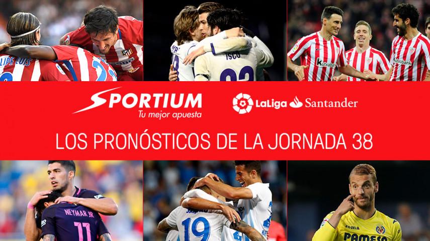 Las recomendaciones de Sportium para la jornada 38 de LaLiga Santander