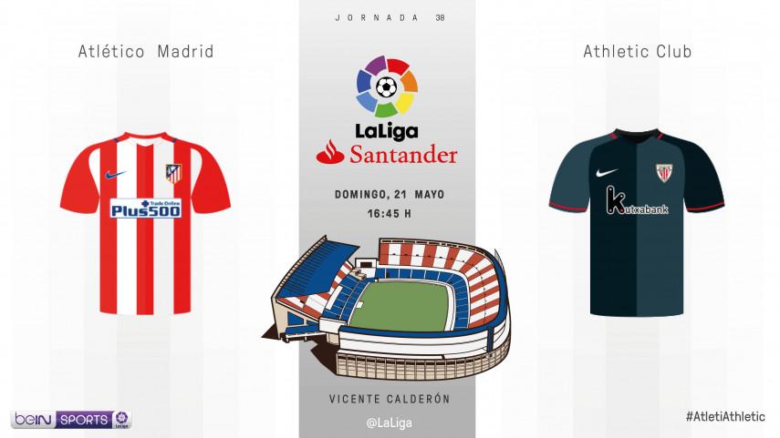 El Calderón dirá adiós ante el Athletic