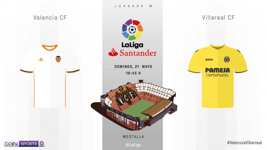 El Villarreal busca el pase a Europa en Mestalla