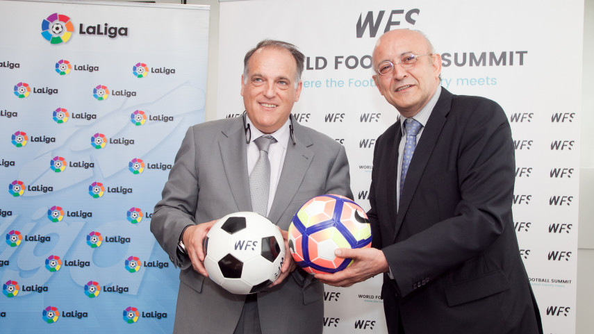 LaLiga, fichaje estrella de World Football Summit