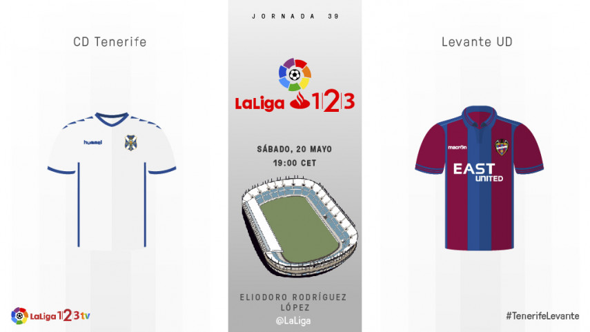 El play-off y el título de LaLiga 1l2l3, en juego en el Heliodoro Rodríguez