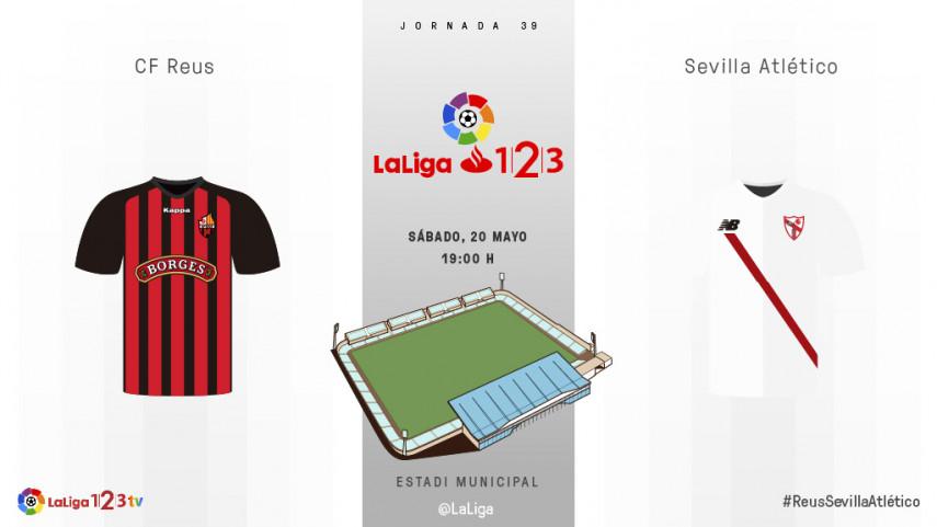 Reus y Sevilla Atlético, en busca de la tranquilidad