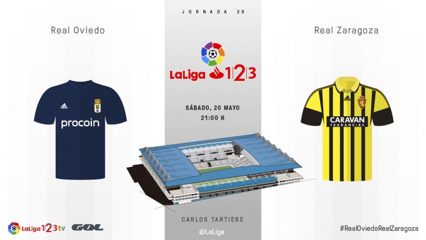 Oviedo y Zaragoza quieren dar un paso al frente