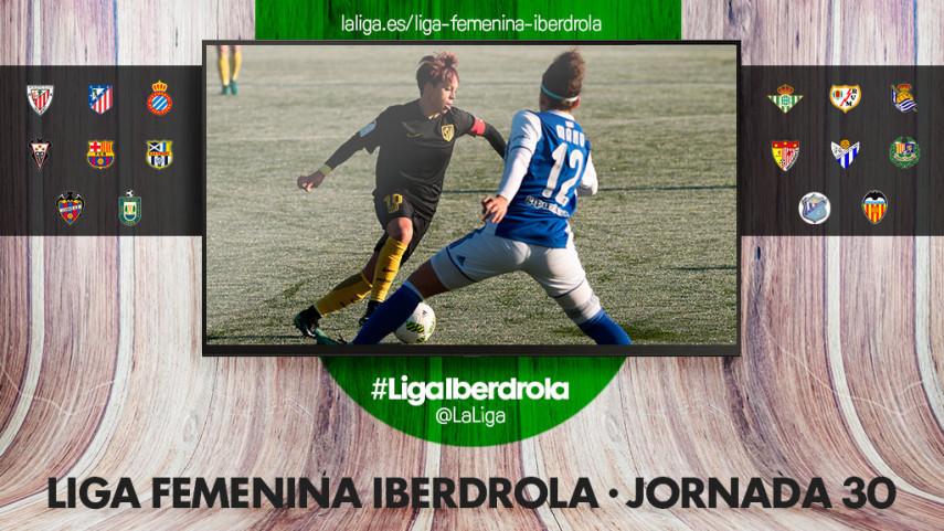 El campeón y el descenso se deciden en la última jornada de la Liga Iberdrola