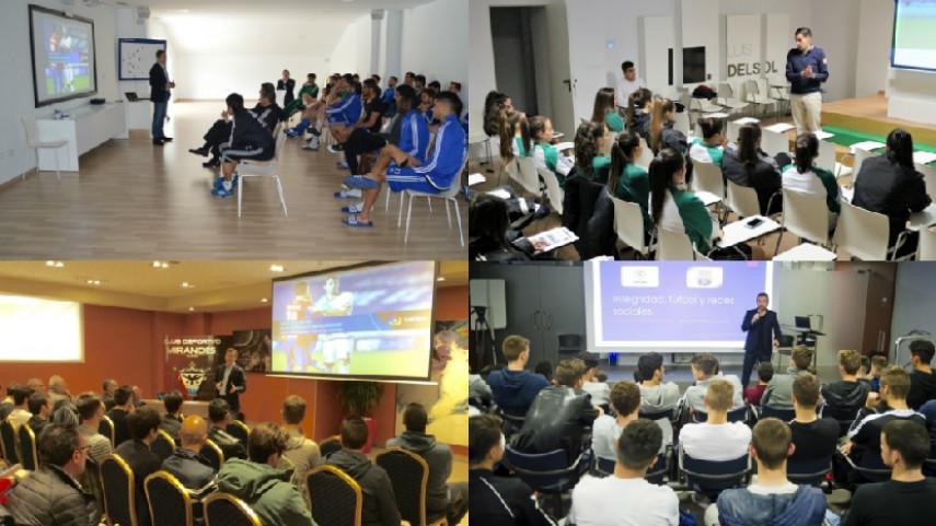 Los talleres de integridad cierran la temporada con su visita al Atlético de Madrid